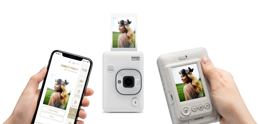 2 in 1 camera and printer liplay