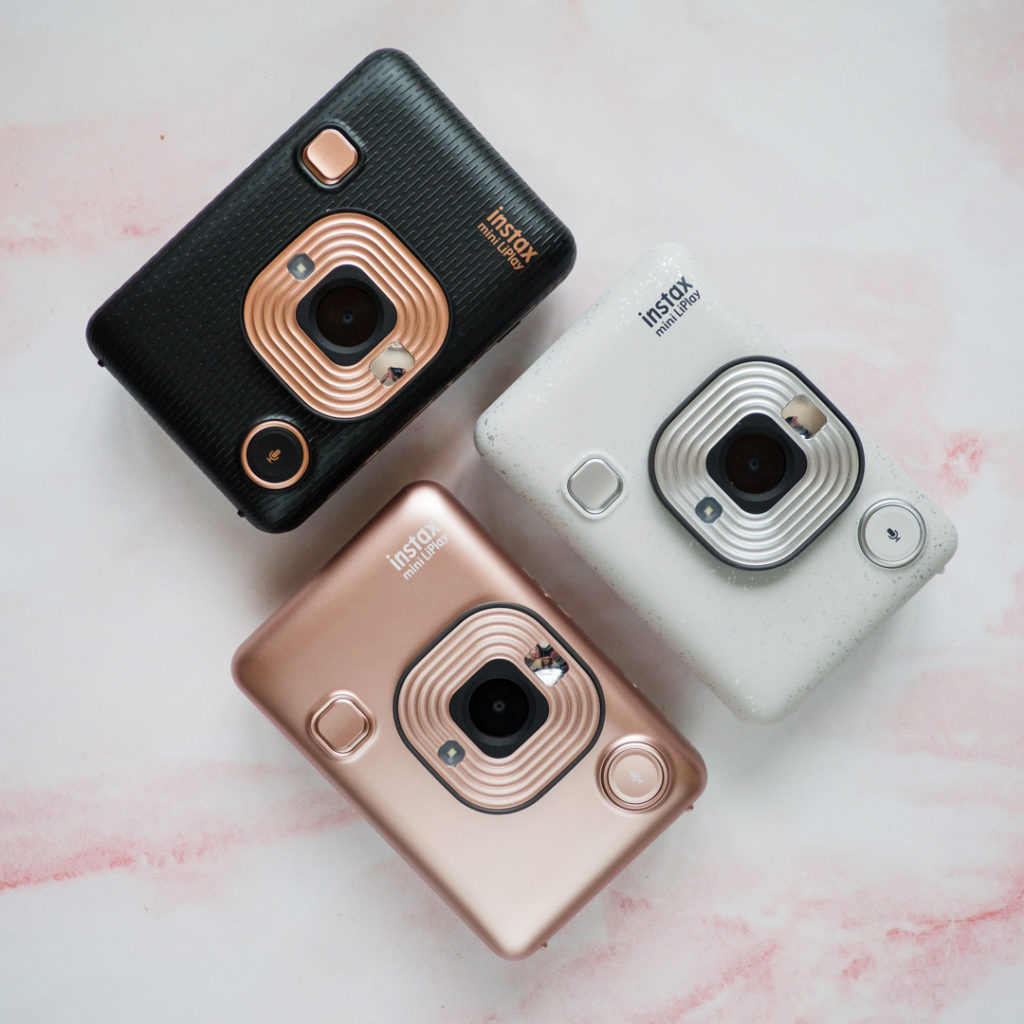 instax mini LiPlay color lineup