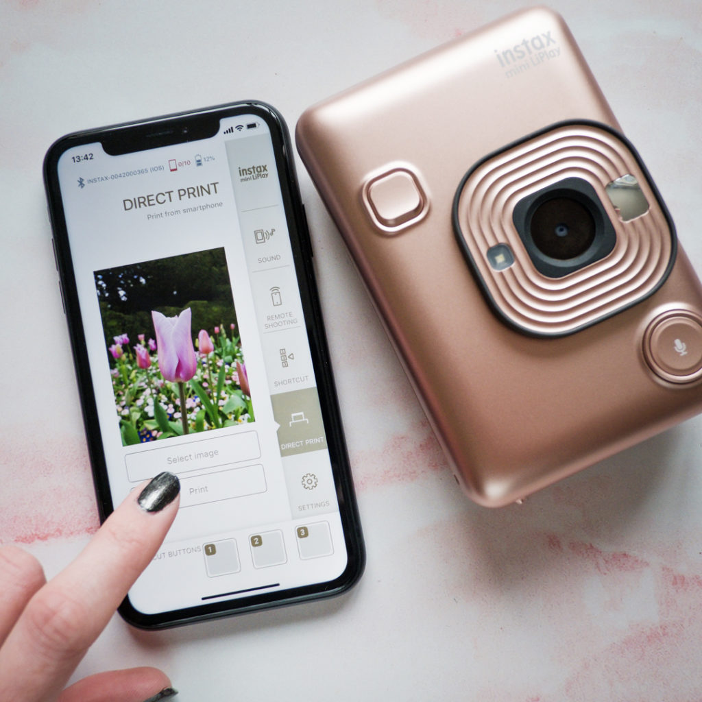 nouvelle application instax liplay